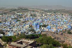 Jodhpur blue-painted city, Rajasthan, India Royalty Free Stock Photos