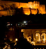 Jodhpur Castle & Raas Hotel Royalty Free Stock Images