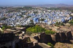 Jodhpur City or the blue city, Rajasthan, India Stock Photos