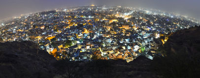 Jodhpur city by night Stock Image