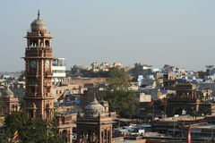 Jodhpur clock tower Royalty Free Stock Images