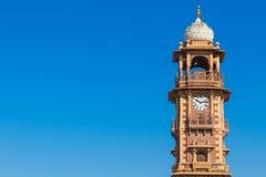 Jodhpur Clocktower. The famous clocktower in Jodhpur Royalty Free Stock Photos