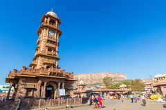Jodhpur Clocktower Stock Photo