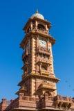 Jodhpur Clocktower. Jodhpur, India,18th January 2017 - The  famous clocktower in Jodhpur Stock Photos