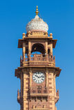 Jodhpur Clocktower. Jodhpur, India,18th January 2017 - The  famous clocktower in Jodhpur Stock Image