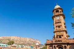 Jodhpur Clocktower Stock Photography