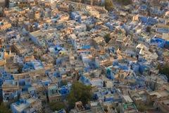 Jodhpur den blåa staden royaltyfri bild