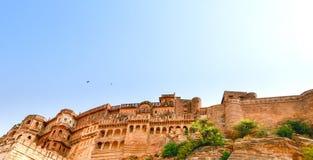 Jodhpur fort, Rajasthan, Indien Royaltyfri Bild