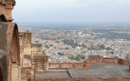 Jodhpur in India. City view of Jodhpur in India, seen from Mehrangarh Fort royalty free stock images