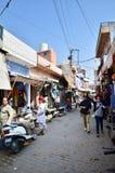 Jodhpur, India - 1° gennaio 2015: Villaggio tradizionale di visita turistica a Jodhpur Immagini Stock Libere da Diritti