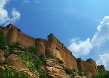 Jodhpur, India: the great Mehrangarh Fort Royalty Free Stock Photos