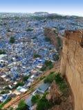Jodhpur, India: the great Mehrangarh Fort Royalty Free Stock Image