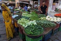 At the market of Jodhpur Stock Photos