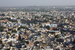 Jodhpur (India) - view from the fort Stock Images