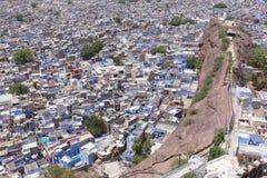 Jodhpur l'Inde bleue du Ràjasthàn de ville Photos stock