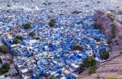 Jodhpur la ciudad azul imagenes de archivo
