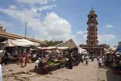 jodhpur marknad Fotografering för Bildbyråer