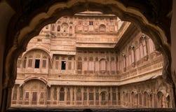Jodhpur palace in Rajasthan Stock Photography