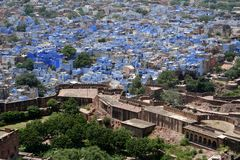 Jodhpur, Rajastan. Blue city of Jodhpur, Rajastan, India Royalty Free Stock Photography