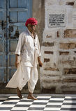 Jodhpur - Rajasthan - India. Indian man in the town of Osian near Jodhpur in Rajasthan in western India Stock Photos