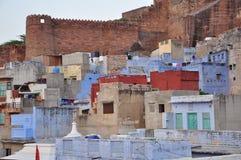 Jodhpur, Rajasthan, India. Old city architecture Royalty Free Stock Image