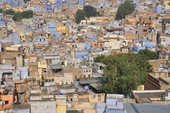 Jodhpur, Rajasthan, India. Old city architecture Royalty Free Stock Photography