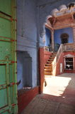 Jodhpur, Rajasthan, India. Old city courtyard. Stock Photography