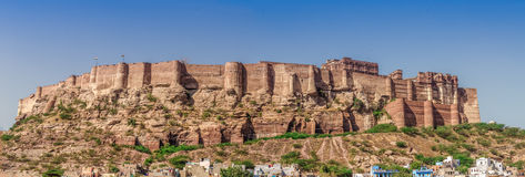 Jodhpur , Rajasthan, india. Panaromic view of the fort of rajasthan Royalty Free Stock Images