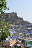 Jodhpur, Rajasthan, India. View of the old city. Royalty Free Stock Photos