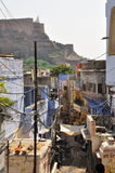 Jodhpur, Rajasthan, India. View of the old city. Stock Photography
