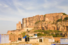 Jodhpur skyline, Rajasthan Stock Photo