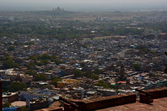 Jodhpur view from Mehrangarh Fort. Rajasthan. India Stock Photography