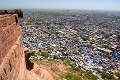 Jodhpur view from Mehrangarh Fort. Rajasthan. India Royalty Free Stock Photo