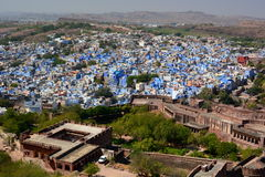 Jodhpur view from Mehrangarh Fort. Rajasthan. India Royalty Free Stock Photography