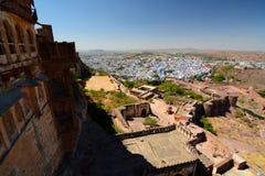 Jodhpur view from Mehrangarh Fort. Rajasthan. India Royalty Free Stock Photos