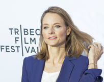 Jodie Foster attends Taxi Driver Reunion Royalty Free Stock Images