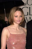 Jodie Foster. 23JAN2000:  Actress/director JODIE FOSTER at the Golden Globe Awards in Beverly Hills.  Paul Smith / Featureflash Royalty Free Stock Photo