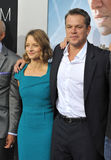 Jodie Foster & Matt Damon Royalty Free Stock Photos
