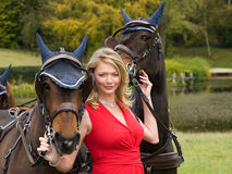 Jodie Kidd Stock Photography