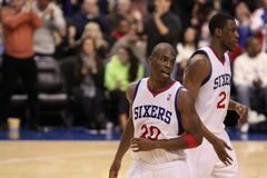 Jodie Meeks & Thaddeus Young Royalty Free Stock Photo