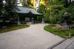 Jodoin mausoleum in Enryaku-ji monastery at Mt. Hiei, Kyoto, Japan royalty free stock photos