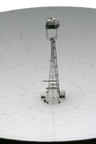 Jodrell bank radiotelescope. Close up view of dish of radio telescope Royalty Free Stock Photo