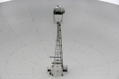 Jodrell bank radiotelescope. Close up of dish of radio telescope Royalty Free Stock Photography