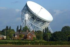 Jodrell Querneigung-Radioteleskop Lizenzfreie Stockfotos