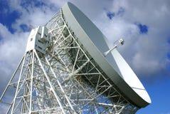 Jodrell Querneigung-Radioteleskop Stockfoto