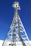 Jodrell Querneigung-Radioteleskop Stockfotografie