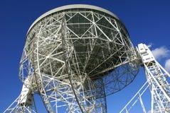 Jodrell Querneigung-Radioteleskop Lizenzfreie Stockfotografie