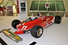 Jody scheckter van Ferrari Stock Fotografie