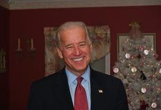 Joe Biden en el partido de casa Imagenes de archivo