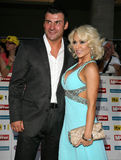 Joe Calzaghe, Kristina Rihanoff Royalty Free Stock Images